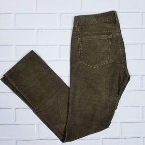 Loft Brown Corderoy Straight Leg Jeans 2P
